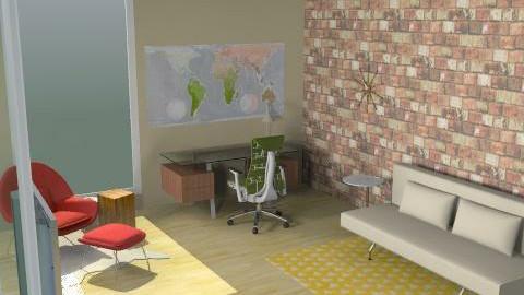 Study/office - Minimal - Office  - by hwaldschmidt