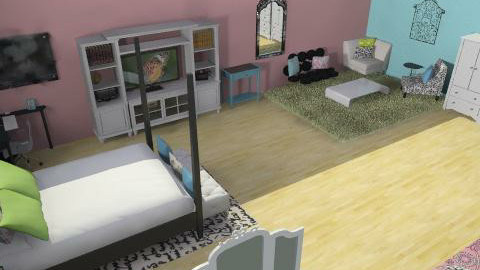 carolina dreamin' - Glamour - Bedroom  - by countrygirl42