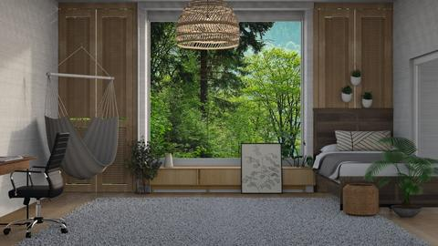 Contest No 2_37 - Modern - Bedroom  - by greekgirl37