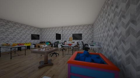 real play room  - Kids room  - by khaled hasan