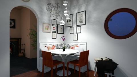 Dining room - by Faby_89_