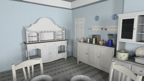 White country - Country - Kitchen  - by Orionx