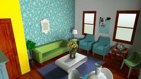 Living Room Three - Living room  - by Kelzoid