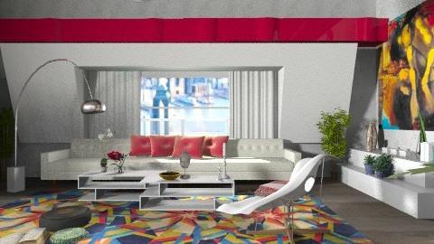 ALICE IN WONDERLAND - Vintage - Living room  - by Eleni Irini