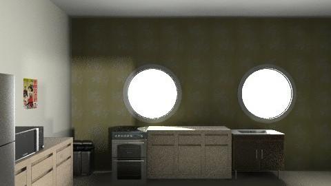 bros kitchen - Retro - Kitchen  - by Arianis Gutirrez Vannucci