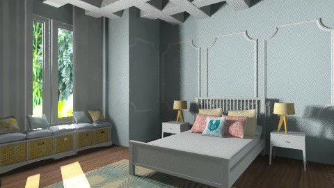 Cozy Cottage - Country - Bedroom  - by 20200969