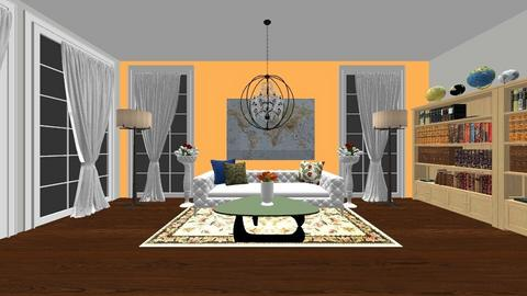 Living in India - Vintage - Living room  - by Agamanta