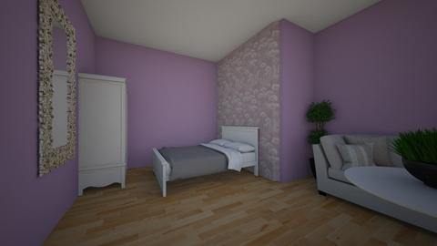 pierwszy - Modern - Bedroom  - by tworzepokoje2009