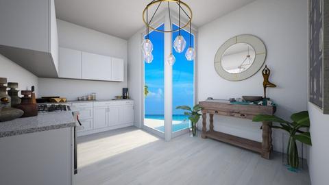 Kitchen by the Sea - Kitchen  - by saricamila