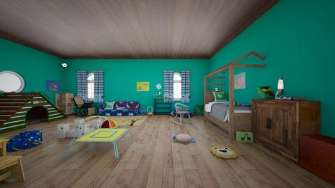 Room for a precocious toddler - Kids room  - by MaskedAcon