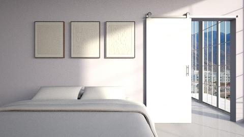 s i m p l e - Minimal - Living room  - by pastel_peach5