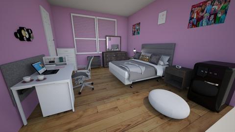 Room R - Modern - Bedroom  - by renata_barrera12