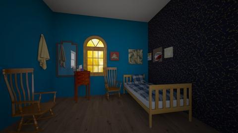 van  - Bedroom  - by annawadood