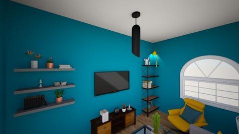 Living room white - Living room  - by LisaSills