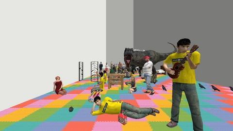 hell - Rustic - Living room  - by LeEpicTrollFaceMLGShades