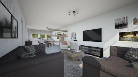 For Boris Kulic I - Minimal - Living room  - by vagrfd
