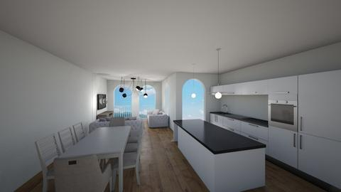 Ocean kitchen - Kitchen  - by aheami