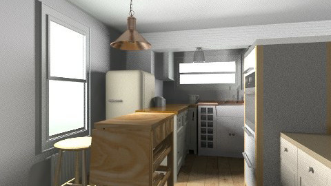 kitchen with trolley - Kitchen - by saelj