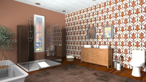 Master bathroom - Eclectic - Bathroom  - by Tyler93