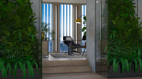 Jungle Office - Eclectic - Office - by evahassing