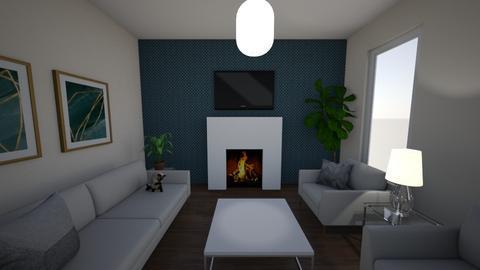 Design Principles Balance - Modern - Living room  - by 0197075