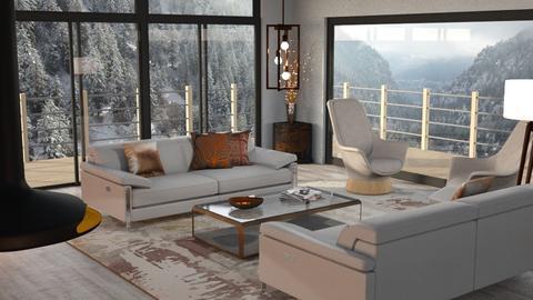 I dont like summer - Living room  - by GraceKathryn