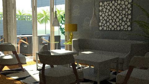 skull_garden3 - Retro - Living room  - by TV Renders