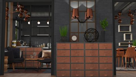 Copper Char - Modern - Kitchen  - by Gurns