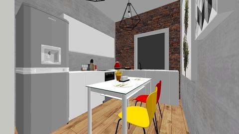2 - Minimal - Kitchen  - by kinia21