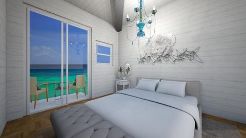 beachy - Rustic - Bedroom - by R A I N A