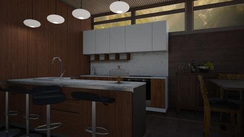 My 60s kitchen  - by heynowgregory