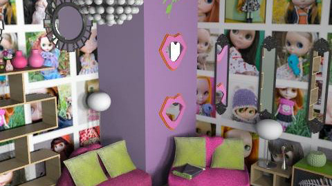 Blythe room - Eclectic - Living room  - by HazelMP