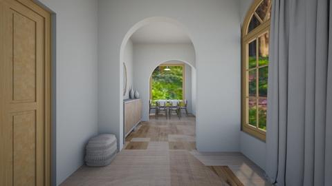 Light Modern Hall - Modern - by thingamabobs