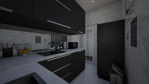 nns ktchn - Masculine - Kitchen  - by Jessi Bust