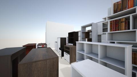 Escritorio - Office - by carrerarquitectura