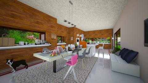 family kitchen - Modern - Kitchen  - by Mihailovikj Mimi