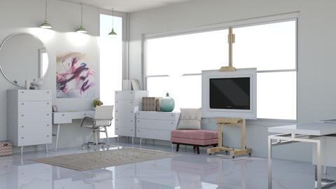 Craft Room - Bedroom  - by Parisrosali