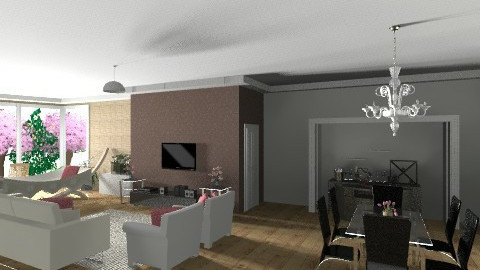 mhfg - Living room - by silmara2012