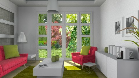 watermelon - Modern - Living room  - by liling