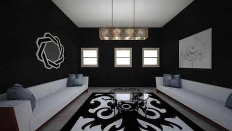 living room - by vane_hortega25