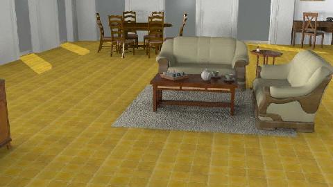 Casa rustica - Rustic - Living room  - by giulygi