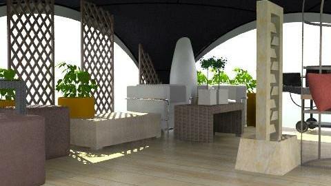bonito patio atechado - Modern - Garden  - by ATELOIV87
