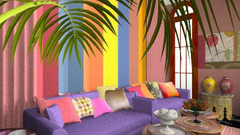 Maroque Room - Glamour - Living room  - by Ulie