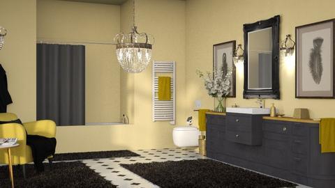Tiffany - Classic - Bathroom  - by Claudia Correia