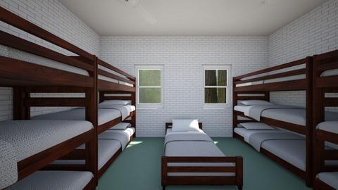 Summer Camp Cabin for 13c - Bedroom  - by SammyJPili
