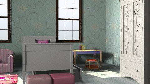My ideal room - Glamour - Kids room - by Lara Karayazgan