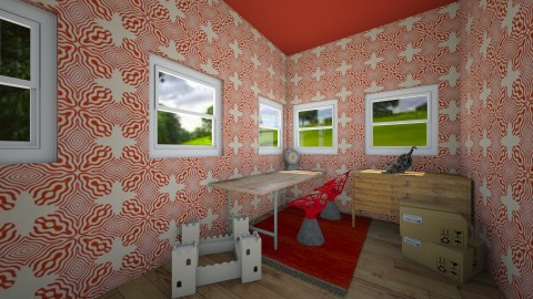 Crafting Corner - Retro - Office  - by Snowella11