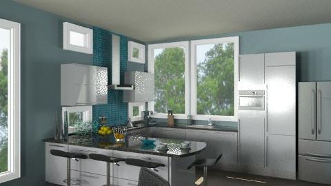 Rhythym of life kitchen - Modern - Kitchen  - by alleypea