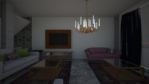 NewOption 4 living - Living room - by zahretelwady
