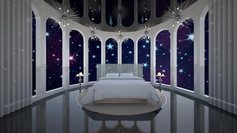 Matilda's Night Sky Bedroom - by Matilda de Dappere